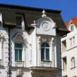 White historical house in Brno, Czech republic — Zdjęcie stockowe