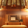 Royalty-Free Stock Photo: Old organ in perspective