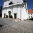 Church of Virgin Mary birth in Vranov near Brno - Stock Photo