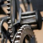 Cog wheels — Stock Photo