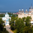 Royalty-Free Stock Photo: Verhoturie.Man\'s Piously-Nikolaev monastery 2