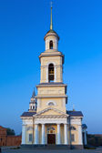 Nevyansk. The Cathedral of the Transfiguration of the Saviour — Zdjęcie stockowe