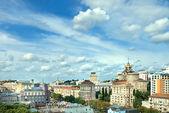 Kyiv center cityscape — Stock Photo