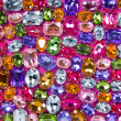 Various color shiny gems - Stock Photo