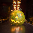 Halloween pumpkin — Stock fotografie #3005926