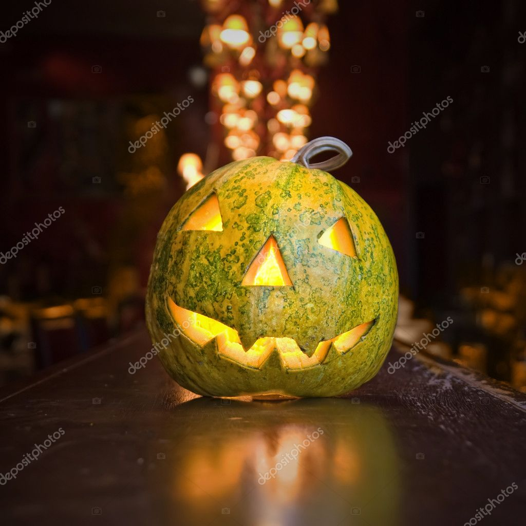 Halloween pumpkin — Stock Photo #3005926