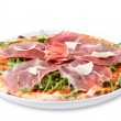 Italian pizza with ham and cheese — Stock Photo #3167495