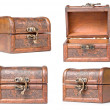 Foto Stock: Wooden chest