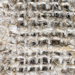 Macro of burlap texture — Stockfoto