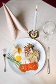 English breakfast — Stock Photo