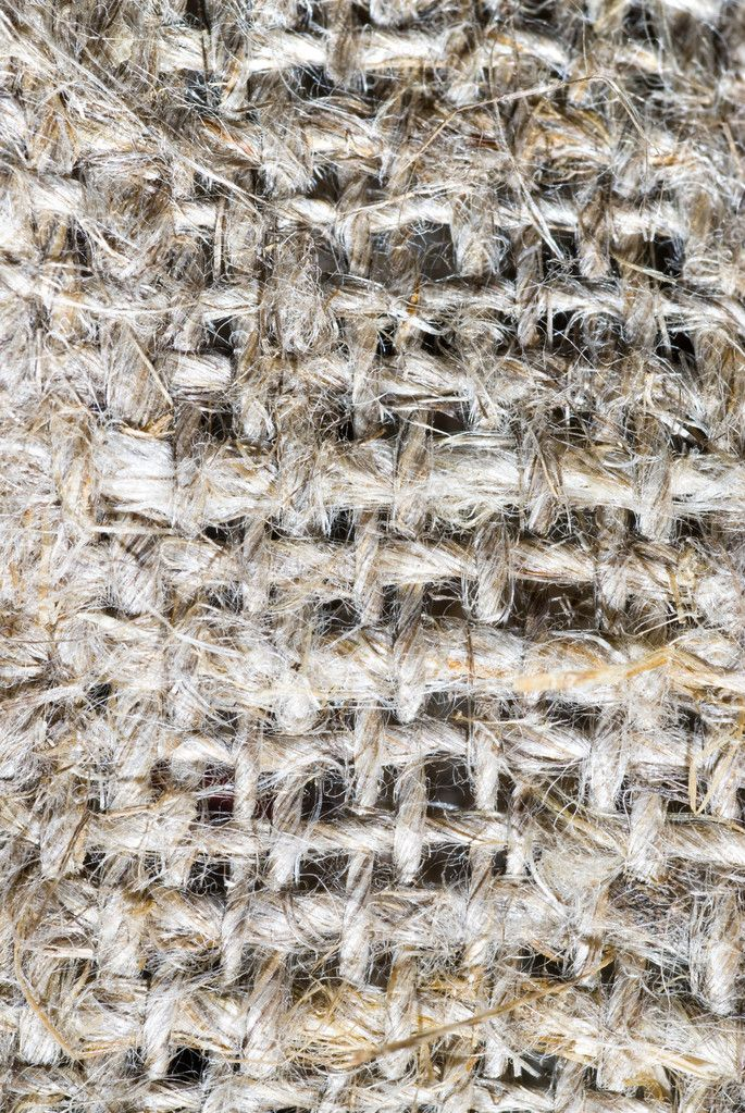Macro of burlap texture — Stock Photo #3168256