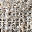 Macro of burlap texture - Stock Photo
