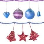 Christmas balls and decoration — Stock Photo #3379907