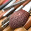 Cosmetic brush - Stock Photo
