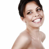 Smiling beautiful woman — Stock Photo