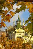 Autumn old Kyiv — Stock Photo