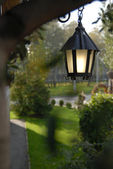 Outdoor lantern — Stock Photo