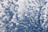 Moln i himlen — Stockfoto