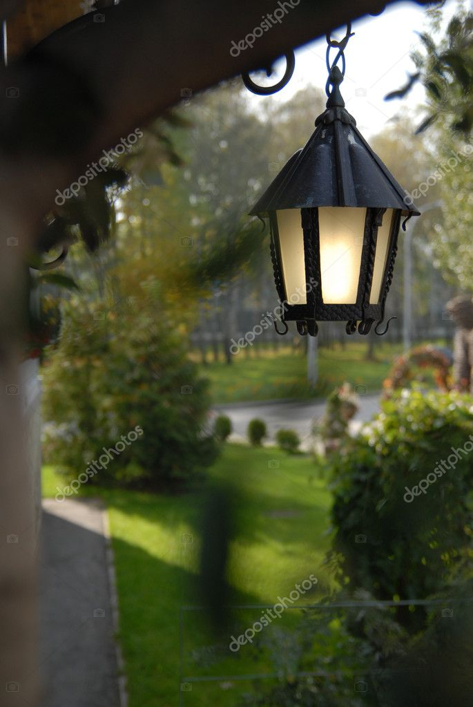 Outdoor lantern — Stock Photo #3379377