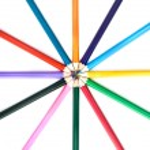 Color pencils — Stock Photo #3384243