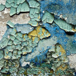Exture of color grunge stucco wall with cracks - Photo