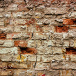 Old grunge bricks wall texture — Stock Photo #3384369