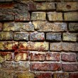 Grunge old bricks wall texture — Stock Photo #3384379