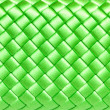 Squared green silk texture — Stock Photo