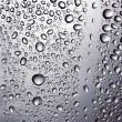 Drops of water on glass — Stock Photo #3385057