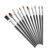 Set of different brushes — Stock Photo