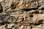 Macro stone wall texture — Stock Photo