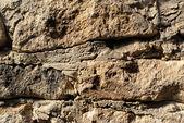 Trama di muro in pietra di macro — Foto Stock
