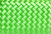 Squared green silk texture — Stock Photo