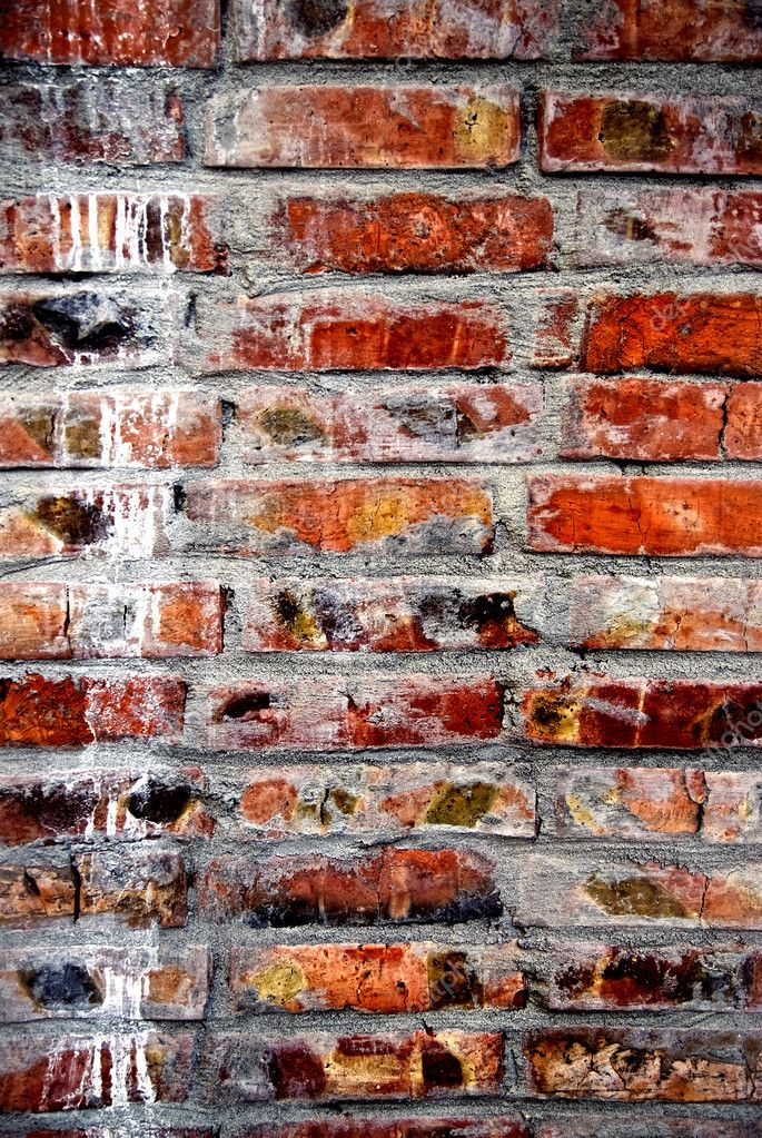 Grunge old bricks wall texture  Stock Photo #3384293