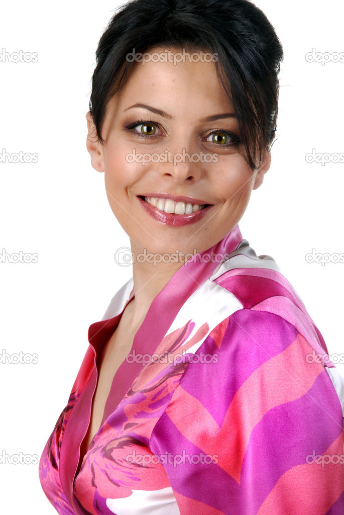 Attractive smiling woman — Stock Photo #3384740