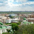 Panorama of the summer Kyiv - Zdjęcie stockowe