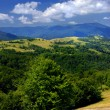 Stock Photo: Summer mountains landscape