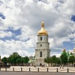 St. Sophia square in Kyiv, Ukraine - Stock Photo