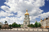 St. Sophia square in Kyiv, Ukraine — Stock Photo
