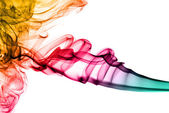 Colored fume abstract pattern — Foto Stock