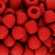 Red raspberry texture or backround — Stock Photo