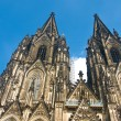 Cologne Cathedral of Saint Peter and Mary — Stock Photo #3487532
