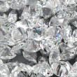 Diamond background. Large group of Jewels — Stock Photo