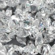 Stock Photo: Diamond background. Large group of Jewels