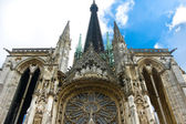 Vitrage of Notre Dame cathedral in Rouen — Stock Photo