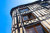 Studwork house in Rouen — Stock Photo