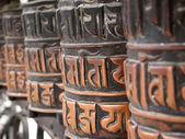 Prayer wheels — Stock fotografie