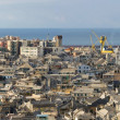 Genova, the old town panorama — Stock Photo
