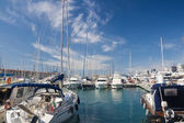 Marina in Genova — Stock Photo