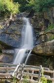 Pejo, Covel waterfall, Italy — Stock Photo